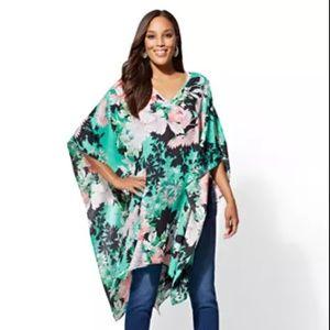 Floral V-Neck Tunic